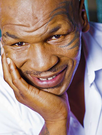 Mike Tyson Vegan