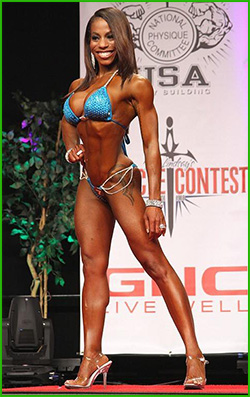 vegetarian bodybuilding and bikini competition