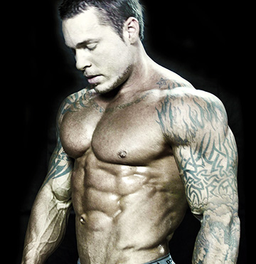 Fraser Bayley Vegan Bodybuilder