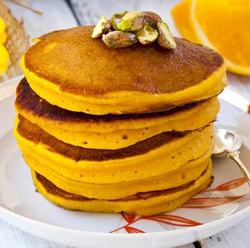 Pumpkin Spice Protein Pancake Recipe