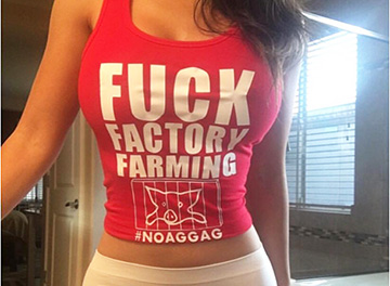 Lizzette Reyes Factory Farming